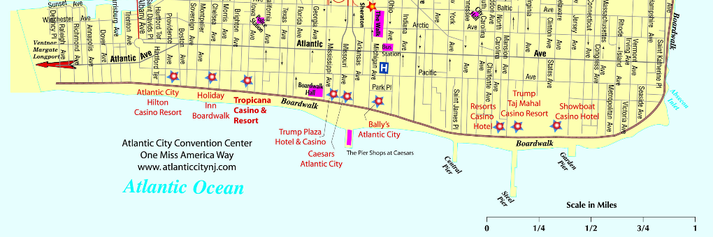 Map of atlantic city hotels and casinos casino games with the best odds