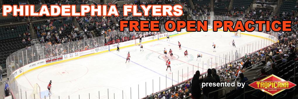 Philadelphia Flyers Free Open Practice