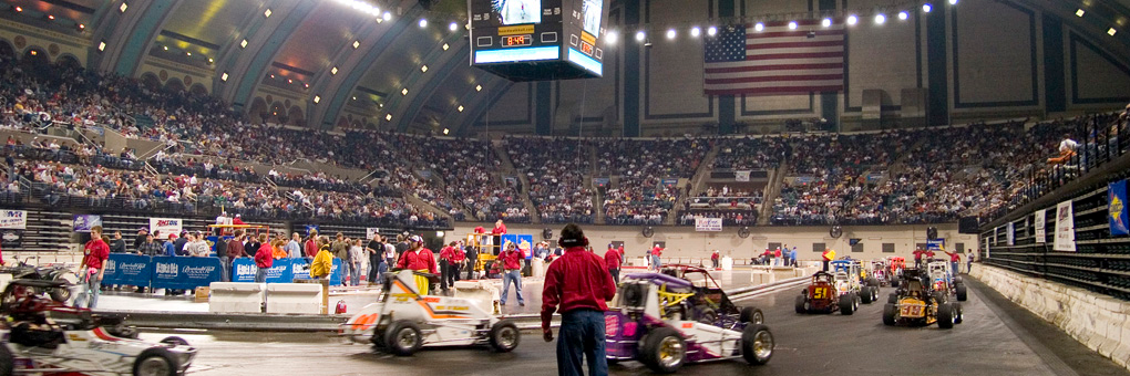 NAPA AUTO PARTS presents Indoor Auto Racing